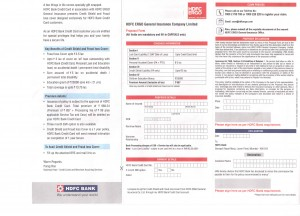 HDFC Ergo Insurance for Credit Card