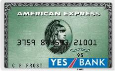 Yes bank Co-Branded Credit Card wihAmerican Express