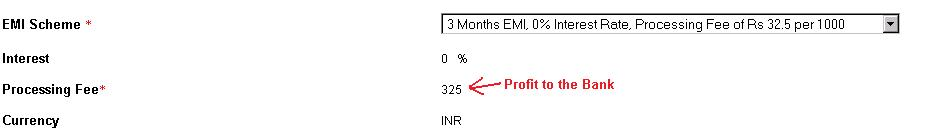 Kotak-EMI-Offer-Processing-Fee