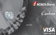 icici bank carbon secured card