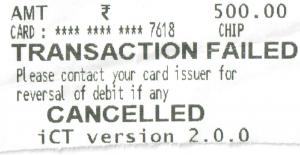 Transaction-Failed